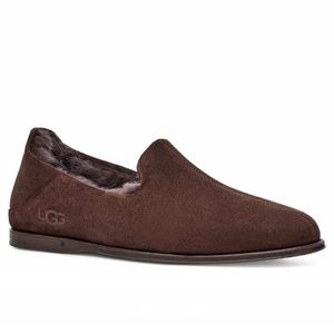 UGG chateau genuine shearling lined slippers